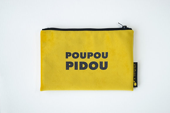 jaune moutarde - POUPOUPIDOU