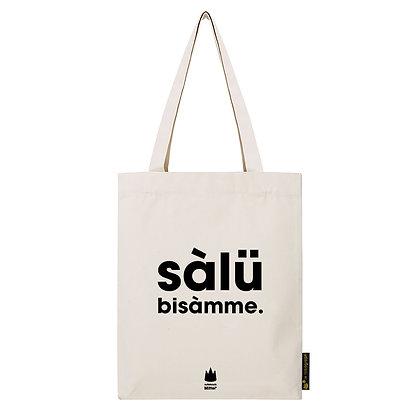 """tote bag """"SALUT BISAMME"""""""