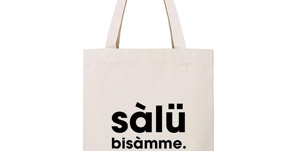 "tote bag ""SALU BISAMME"""
