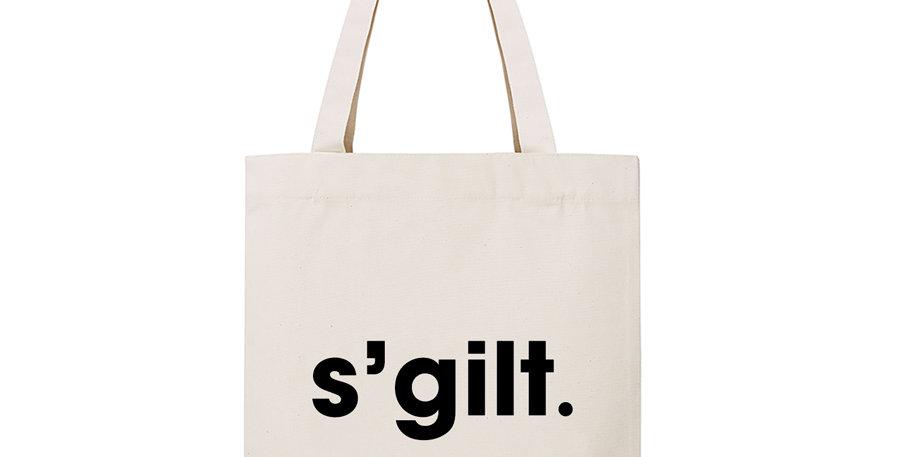 """Tote bag """"S'GILT'"""""""
