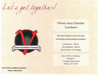 Join us June 9th as we enjoy food, networking, and special guest speakers from J & D Supply and