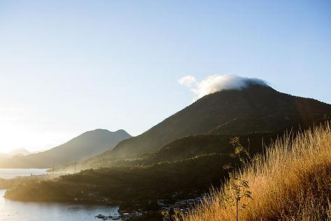 Guatemala Landscape Photo; Lake Atitlan