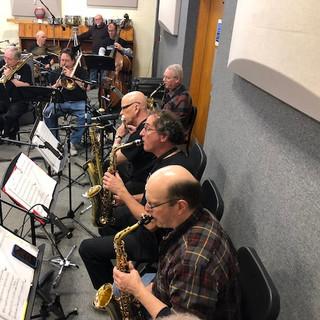 JP Big Band Recording Session