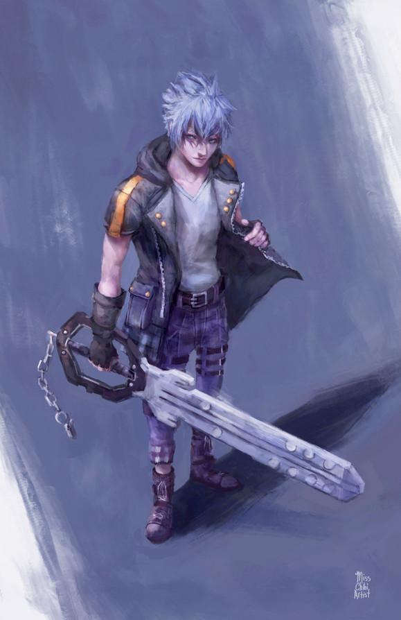 Riku from Kingdom Hearts 3