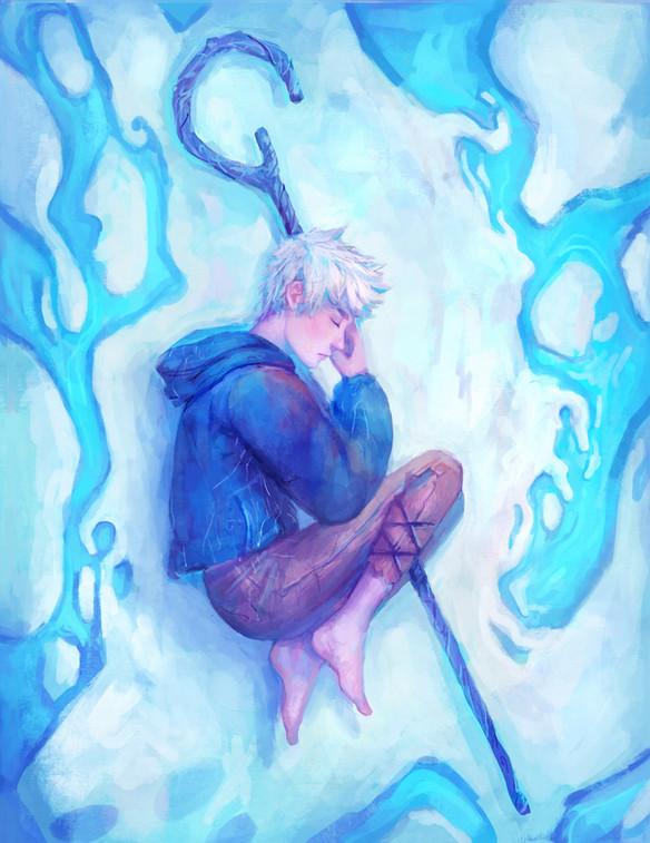 Jack Frost illustration painting