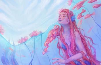 Lotus Mermaid