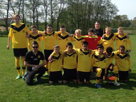 SAFF P01 nådde obesegrade till 8-delsfinal i Eskilscupen
