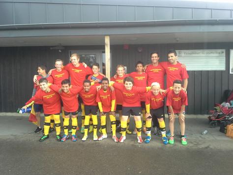 Campeones! SAFF P01 Serievinnare 2014!