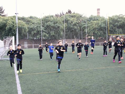 Så var SAFF träningsläger i Barcelona till ända