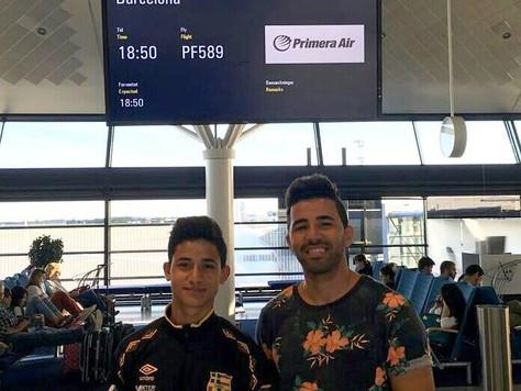 Flydde kriget – nu får han ny drömchans i Barcelona