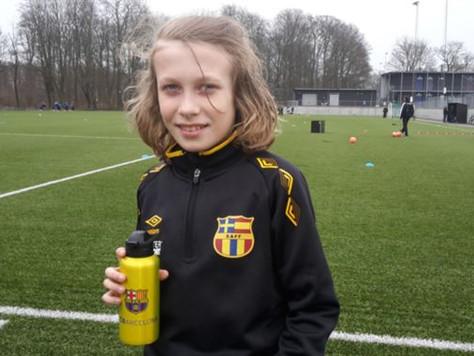 Spanska Akademin tar 10-åriga WIlmer att provträna med FC Barcelona