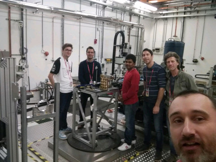 A visit to Diamond Light Source for Residual Stress measurement.