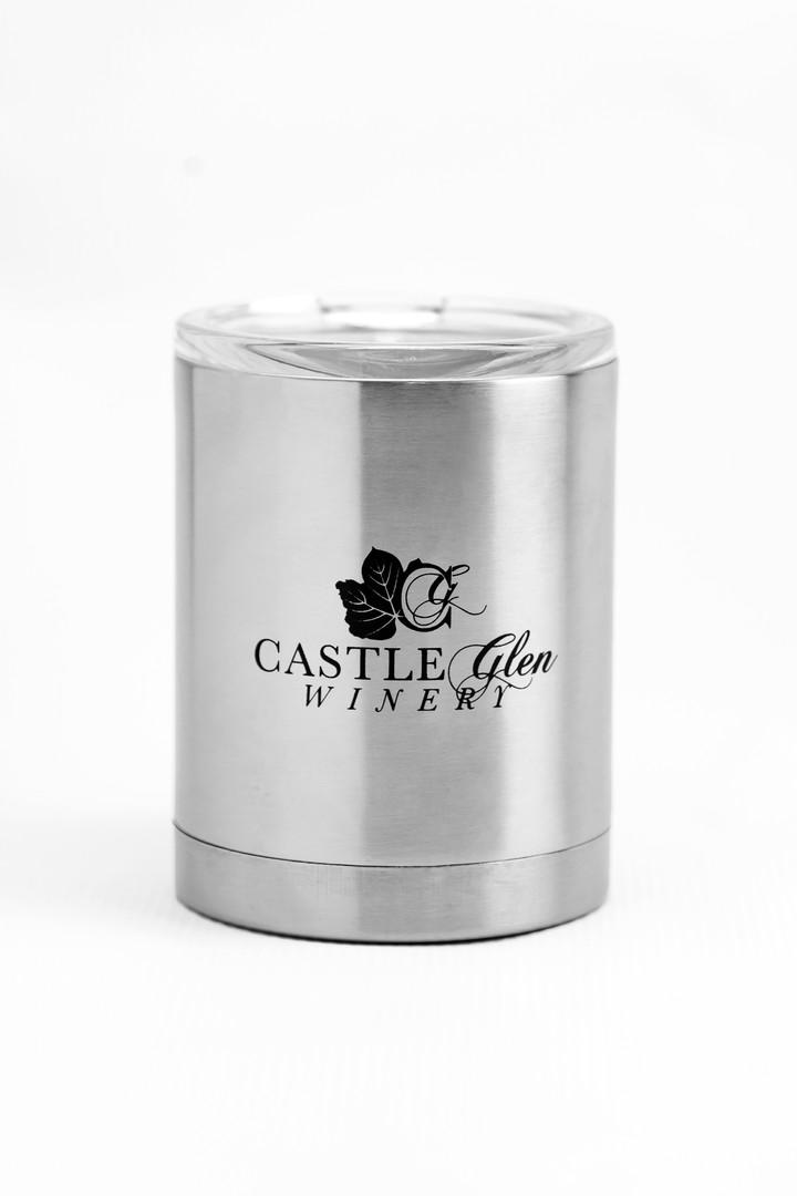 Castle Glen Winery Wine Slushie Mug front