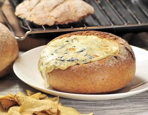 Dip de queso y tocino