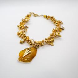 Parisian Peacock Necklace