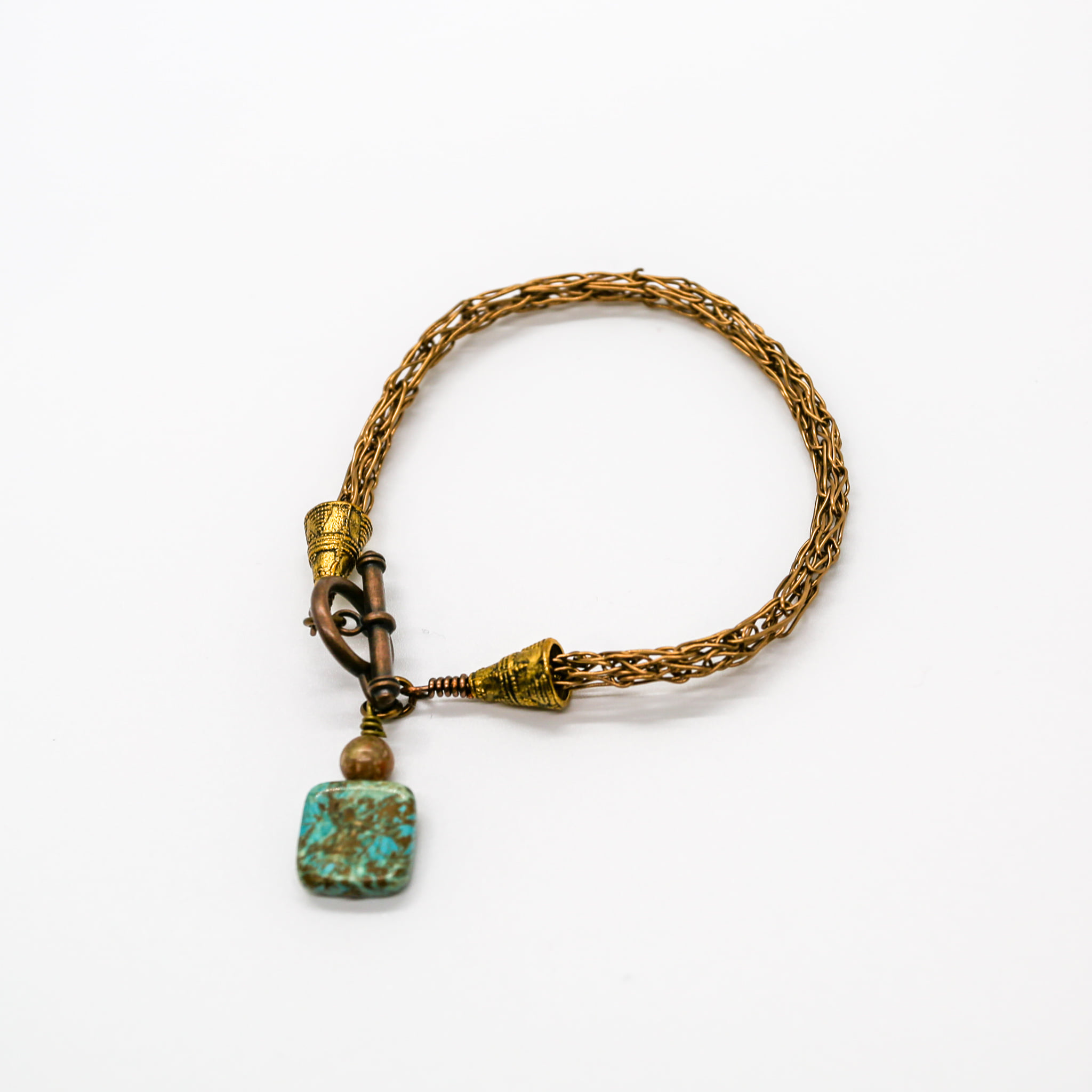 Parisian Peacock Bracelet