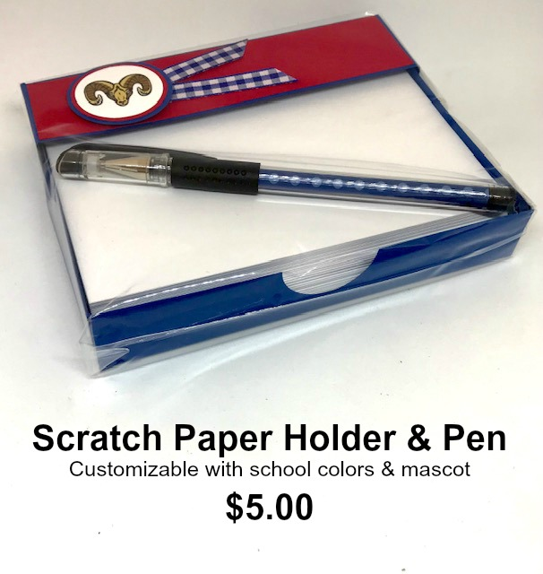 Scratch Paper Holder