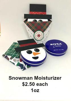 Snowman Moisturizer