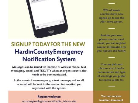 Hardin County Emergency Notification System