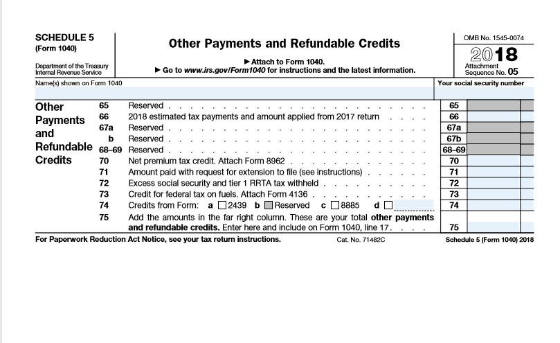 2018 New Form 1040, What a Difference