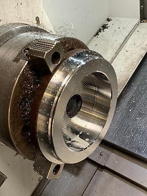 Hydraulic Jack part on Puma GT3100M