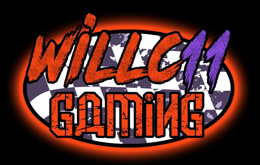 WillC11 Logo Black Background Orange_edi