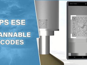 Scannable QR codes for ALPS ESE devices