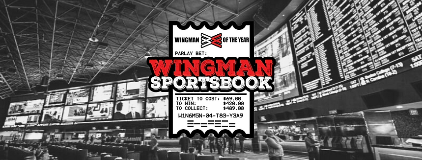 Wingman Of The Year Wingman Sportsbook Banner