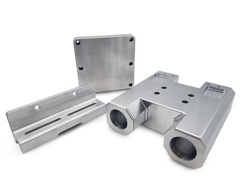 Machined parts for Rail X-Ray machine