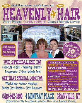 Heavenly Hair Flyer Full Page Front copy