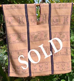 SOLD--Endangered: Huipil $3,600 pesos plus shipping (mas envio)