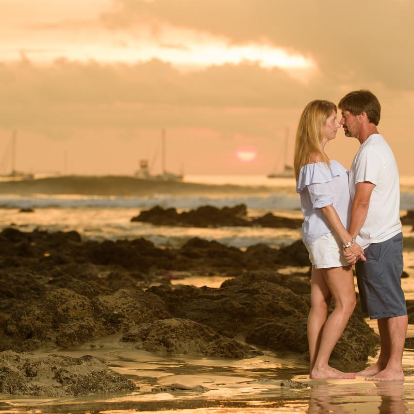 Romantic sailboats at Tamarindo Diria
