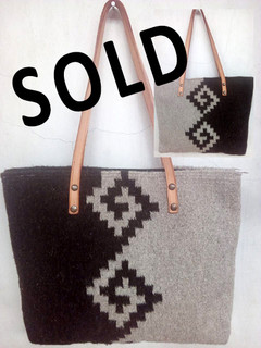 "SOLD--""Mitla"" Design Wool Bag $730 pesos plus shipping (mas envio)"