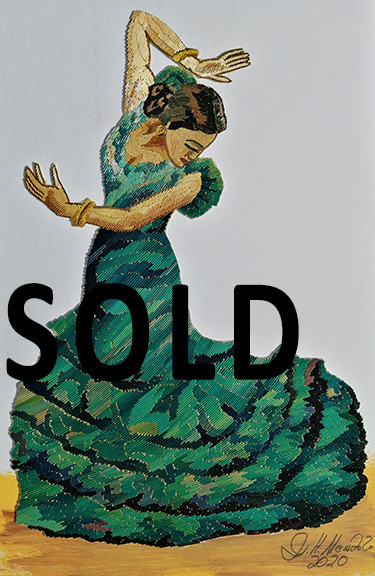 SOLD--Flemenco dancer $1,500 pesos