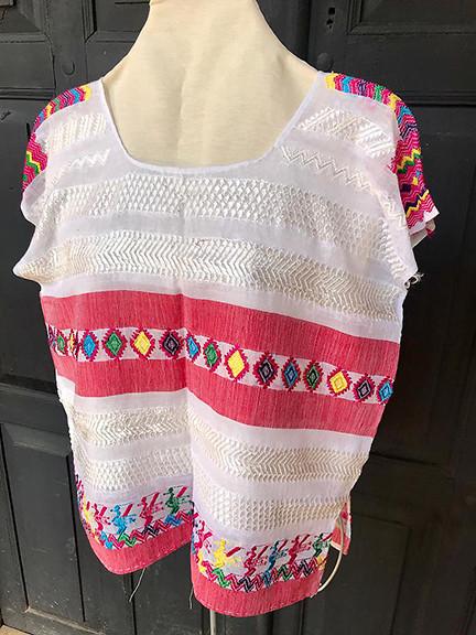 Cotton Huipil $750 pesos plus shipping (mas envio)