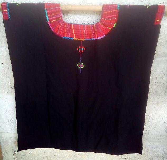 Black Huipil $1500 pesos plus shipping (mas envio)