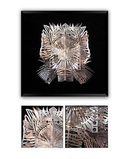 """""""SILVER IV"""" Papercut Art $3,900 pesos plus shipping (mas envio)"""