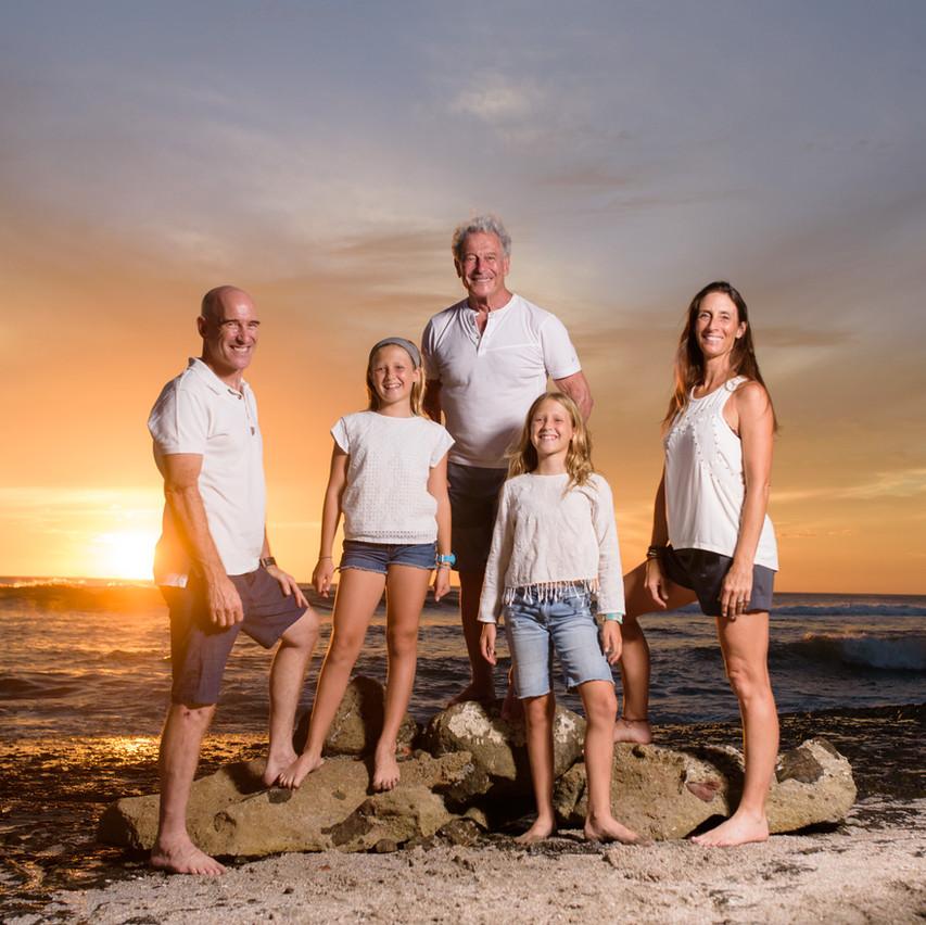 Family photos in Tamarindo