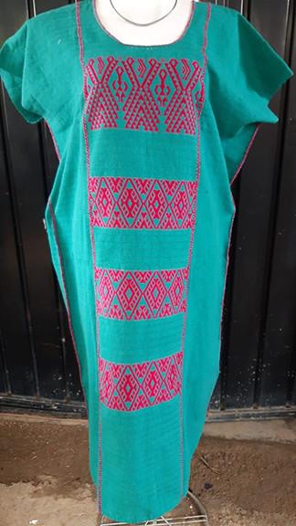 Hand-woven Cotton Huipil $2200 plus shipping (mas envio)