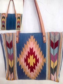 """""""Diamond & Leaf Wool Bag $850 pesos plus shipping (mas envio)"""