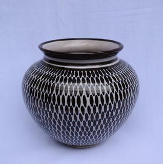 High-fire Ceramic Vase $800 pesos plus shipping (mas envio)
