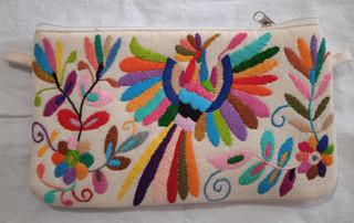 Hand-Embroidered Otomi Purse $550 pesos plus shipping (mas envio)plus shipping (mas envio)