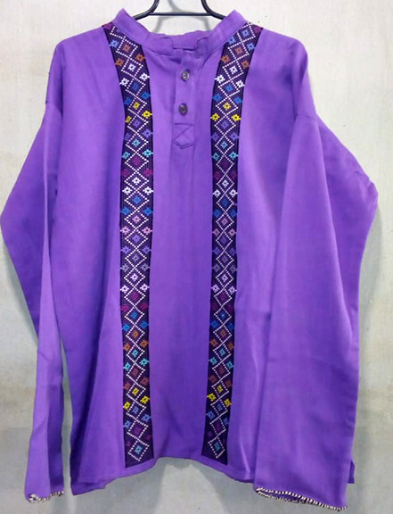 Long-sleeve Huipil $1,650 pesos plus shipping (mas envio)