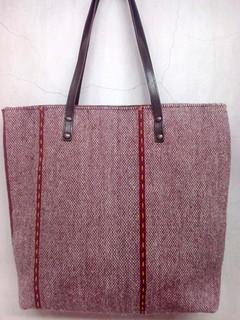 Wool Zapotec Design Bag - Reverse Side/El Reverso