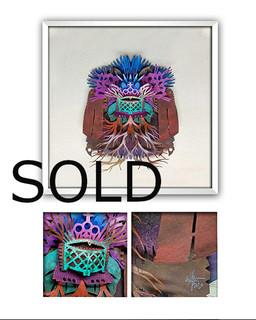 """SOLD-""""SACRED VESSEL"""" $3,600 pesos plus shipping (mas envio)"""