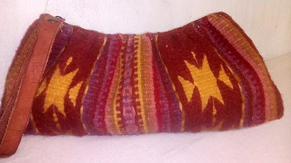 Wool Cosmetic Bag $320 pesos plus shipping (mas envio)