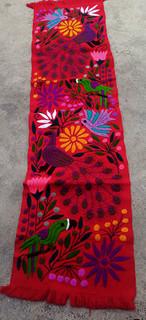 Hand-Embroidered Table Runner $1050 pesos plus shipping (mas envio)