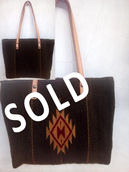 """SOLD--""""God's Eye Diamond"""" Wool Bag $720 pesos plus shipping (mas envio)"""