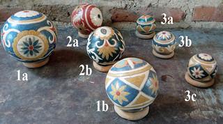 Large Esfera (Ball) $150; Medium Esfera $250; Small Esfera $150 pesos plus shipping (mas envio)
