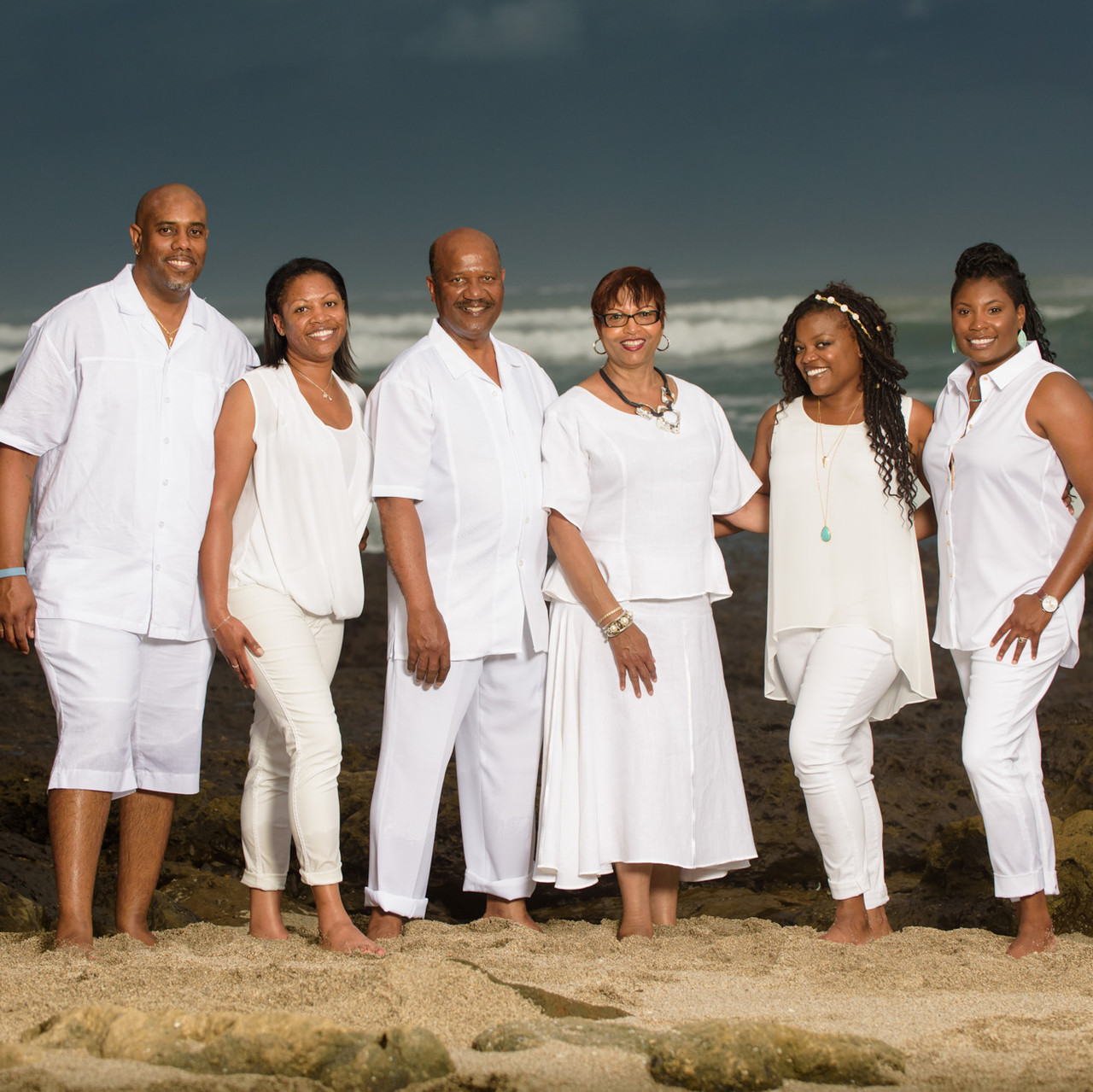 Three couples reunite at Langosta Beach